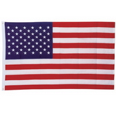 High-Quality Embroidered USA Flag with Canva Sleeve and 2 Brass Grommets