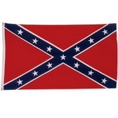 300D Polyester Flag With Canvas Sleeve And 2 Brass Grommets, 3' x 5'