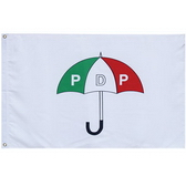 Knitted Polyester Flag With Canvas Sleeve And 2 Grommets