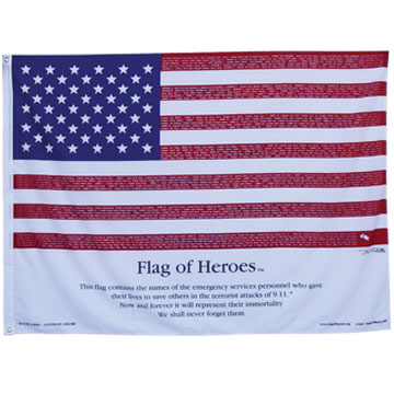 150D Polyester Flag With Canvas Sleeve And 2 Grommets