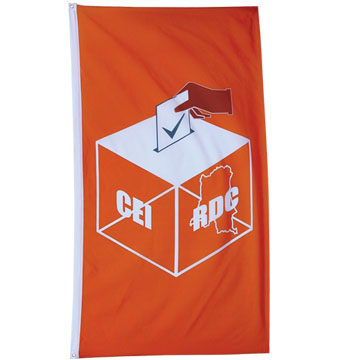 75D Polyester Flag With 75D Polyester Sleeve And 2 Grommets