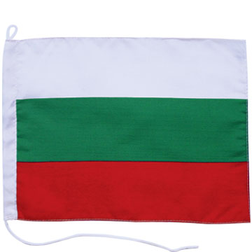 Boat Flag, 75D Polyester Flag With 75D Polyester Sleeve And Cord