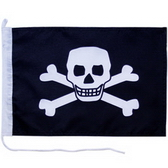 Boat flag, 200D Nylon Flag, Stitching Borders With Canvas Sleeve And Cord