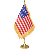 10 x 20 cm flag plastic pole and base, 37 cm height
