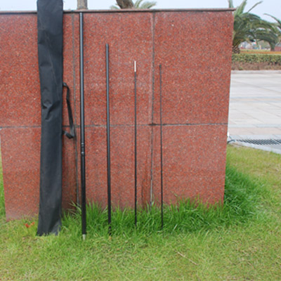 5 Meters Fiberglass teardrop & paddle Flagpoles
