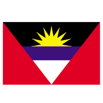 Antigua&Barbuda flags    High-Quality 2-ply Car Window Flag With Clip Attachment