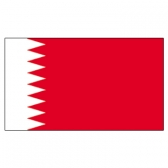Bahrain flags     High-Quality 2-ply Car Window Flag With Clip Attachment