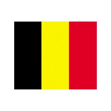 Belgium flags     High-Quality 2-ply Car Window Flag With Clip Attachment