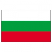 Bulgaria Flags     High-Quality 1-ply Car Window Flag With Clip Attachment