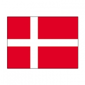 Denmark Flags     High-Quality 1-ply Car Window Flag With Clip Attachment