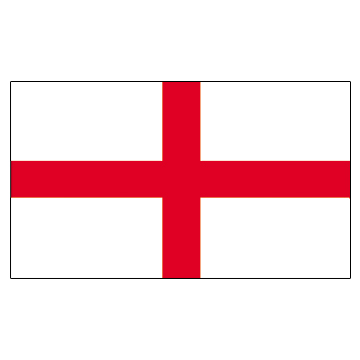 England Flags     High-Quality 1-ply Car Window Flag With Clip Attachment
