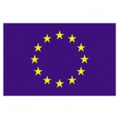 European Council Flags     High-Quality 1-ply Car Window Flag With Clip Attachment