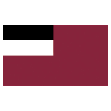 Georgia Flags      High-Quality 1-ply Car Window Flag With Clip Attachment