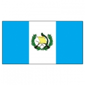 Guatemala Flags      High-Quality 1-ply Car Window Flag With Clip Attachment