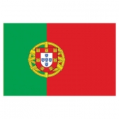 Portugal  Flags      High-Quality 1-ply Car Window Flag With Clip Attachment