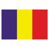 Romania  Flags      High-Quality 1-ply Car Window Flag With Clip Attachment
