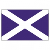 Scotland Flags      High-Quality 1-ply Car Window Flag With Clip Attachment