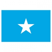 Somalia Flags      High-Quality 1-ply Car Window Flag With Clip Attachment