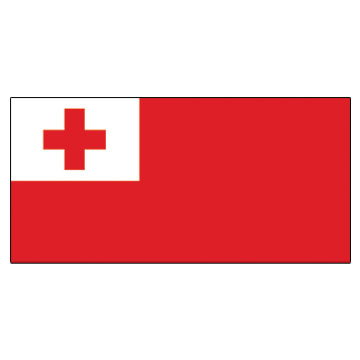 TonGa  Flags      High-Quality 1-ply Car Window Flag With Clip Attachment