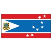 Tuvalu  Flags      High-Quality 1-ply Car Window Flag With Clip Attachment