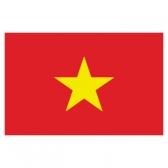 Vietnam  Flags      High-Quality 1-ply Car Window Flag With Clip Attachment