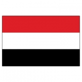 Yemen Flags      High-Quality 1-ply Car Window Flag With Clip Attachment