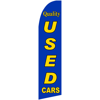 Quality Used Cars Swoopers Beach Flags Feather flags and Advertising Flags