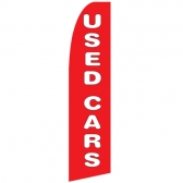 Used Cars Swoopers Beach Flags Feather flags and Advertising Flags