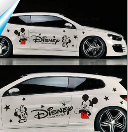 Custom Different Pattern and Color Vinyl Car Body Sticker