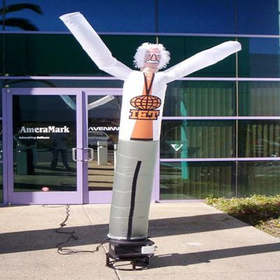 Old Man Image Inflatable Arm Flailing Tube Man Air Dancer for Sale