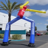 Huge Two Legs Inflatable Flailing Arm Man Air Dancer for Promotion