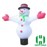 Snowman Image Custom Advertising Inflatable Air dancer