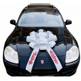 Indoor Outdoor Waterproof Ribbon Car Bow