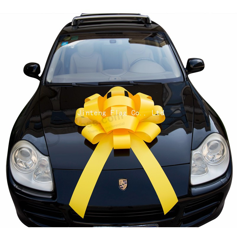 Custom Magnetic Giant 40 Inch Yellow Car Bow