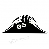 Car Styling Accessories Reflective Waterproof Peeking Monster Car Sticker