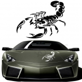 3D Car Stickers and Decals Cute Scorpion Car Stickers