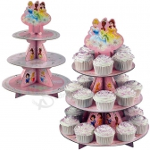 Cartoon Printing Paper Cardboard Cupcake Display Stand Box for Children