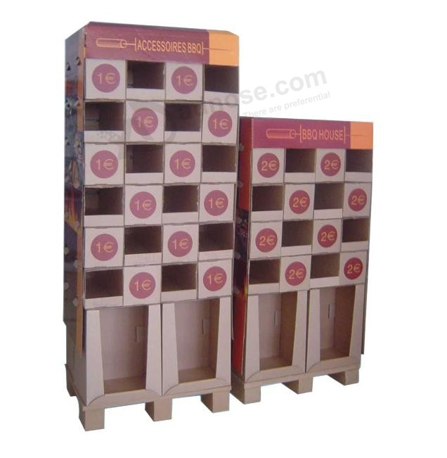 Wholesale Printed Cardboard Promotional Pallet Counter Display Box