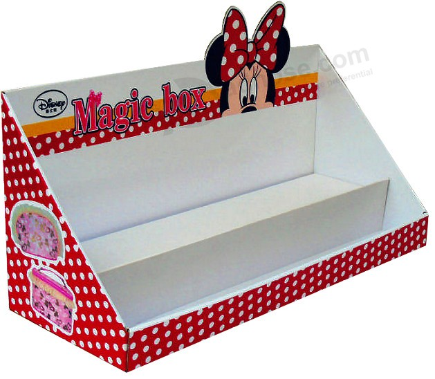 Paper Carboard Display Counter Box for Disney Promotion Gift