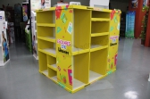 Custom Designed Colorful Paper Cardboard Pallet Display Box