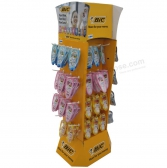 Wholesale Paper Cardboard Hook Hanging Counter Display Box