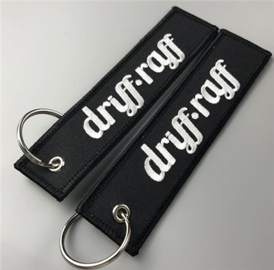 Manufacturer Wholesale Cheap Promotional Custom Made Fabric Key Tag