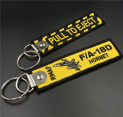 China Wholesale Cheap Customized Embroidery Lanyard Key Tag
